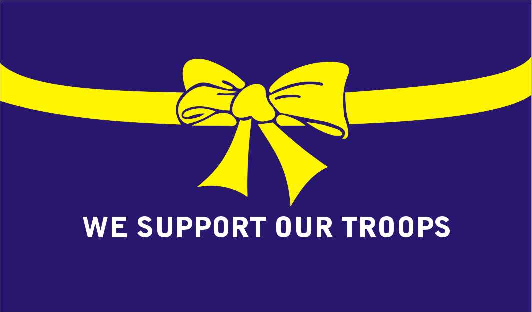 yellow ribbon - troop support